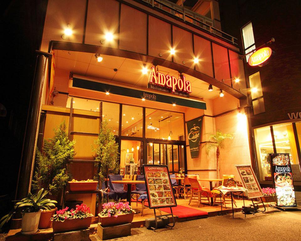 少数合コン♪芸能人もお忍びでこられるお店♪恵比寿駅近のスパニッシュテラスバルレストラン♪
