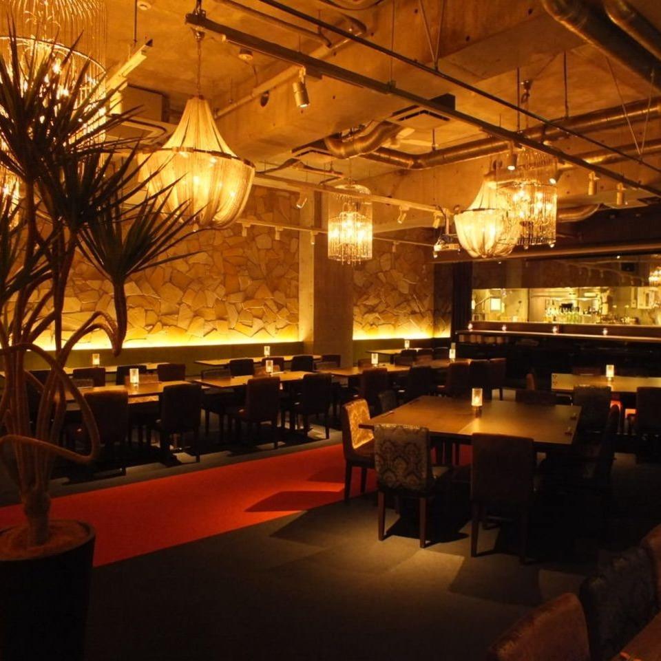 「週末金曜日開催!烏丸のお洒落レストランで着席スタイル&BIGコンパパーティー(男女共に24-38歳)」