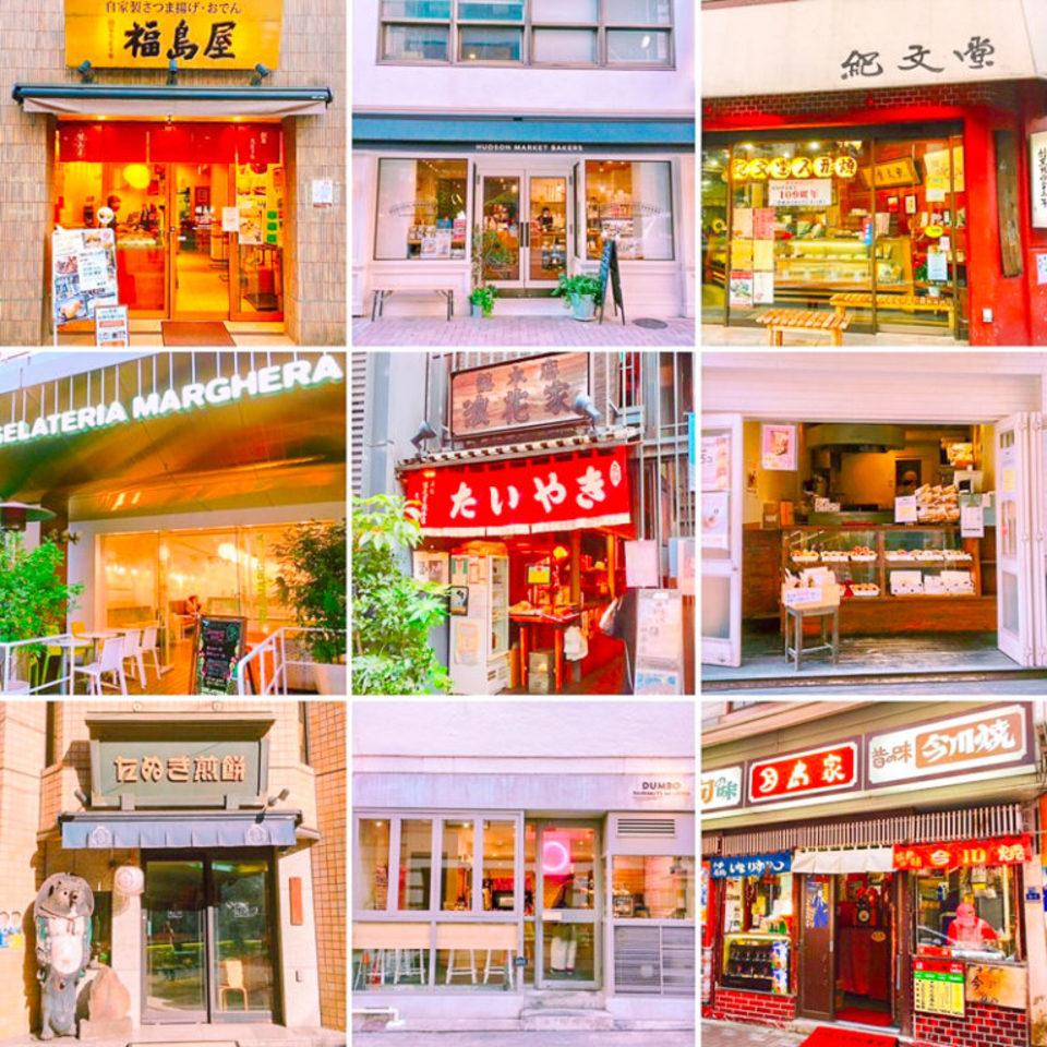 話題のフォトジェスイーツに名店・老舗の美味天国♡ここにしかない絶品グルメがたくさん!美味しい街♡麻布十番食べ歩きコン♪【麻布十番】
