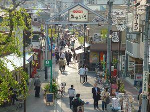 東京谷中を散歩で婚活ウォーキング