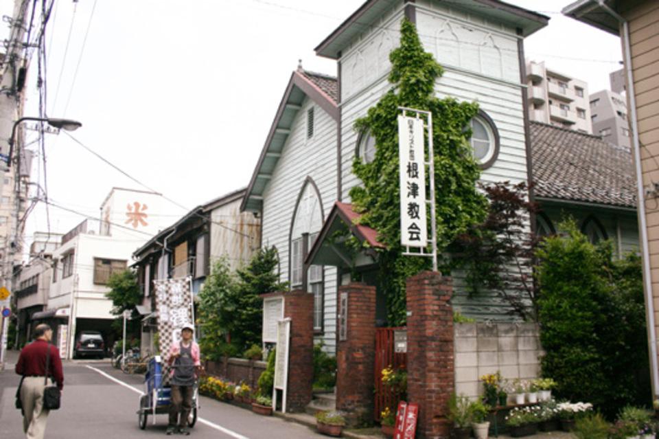 工房や雑貨屋、ギャラリーが集まる 根津、千駄木を散策し 人気カフェでお茶します。