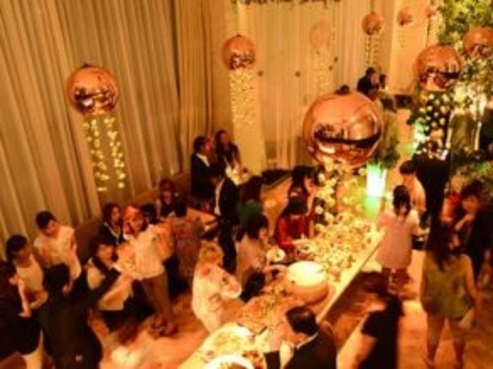 東京銀座で異文化国際交流パーティー