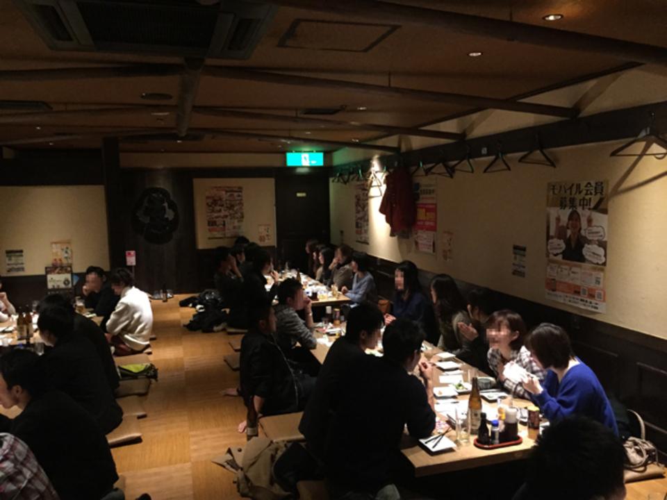 豊田で男女比1対1街コン着席型!出会い合コン