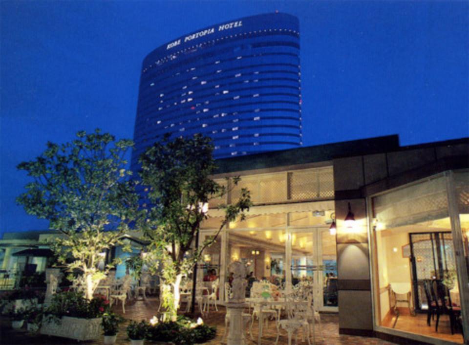 ディナーコン!神戸ポートピアホテル プールサイドパーティー