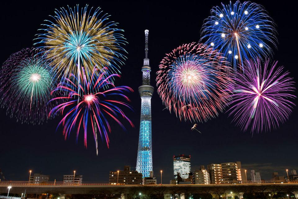 順延で29日に変更になります。夏の風物詩隅田川花火大会!鑑賞ウォーキングコン