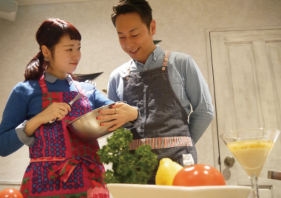 赤坂で現役パティシエによるお菓子教室&恋活パーティー~特製タルトショコラ作り~