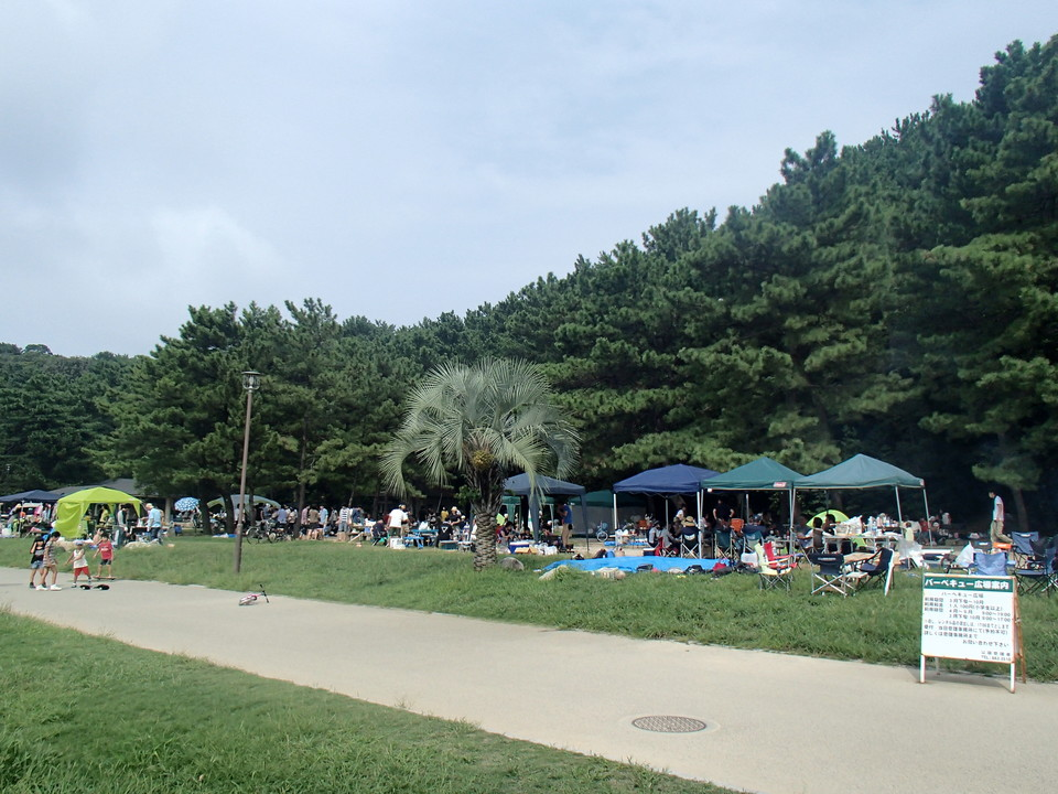 博多湾を見渡せる自然豊かな小戸公園で「BBQコン」恋活パーティー