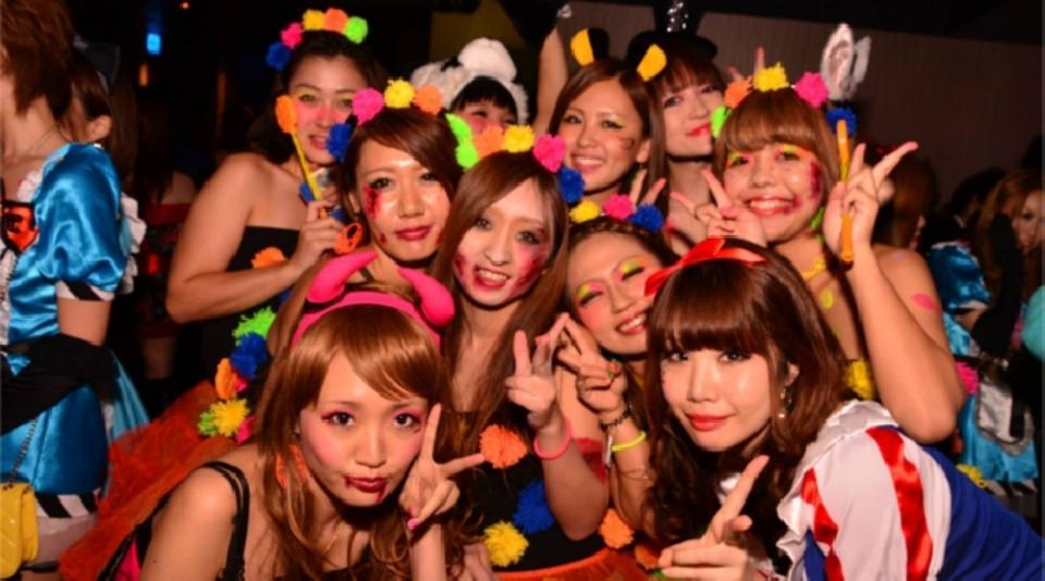 (火)女性大先行中!!【恵比寿☆500人規模!】KITSUNE Halloween Party 2017★